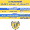 Programma 30 settembre – 1 ottobre 2017