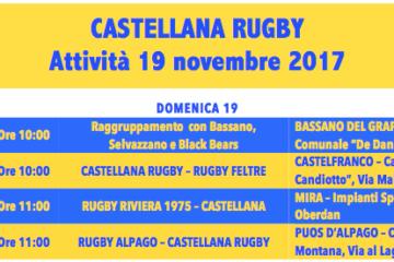 Programma 19 novembre 2017