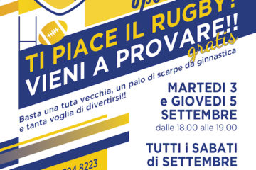 Castellana Rugby OPEN DAYS